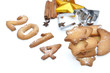 biscuits sablés pour la nouvelle année