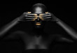 Leinwandbild Motiv black pearl