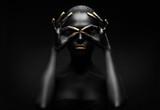 beauty portrait of a black woman. - 56248274