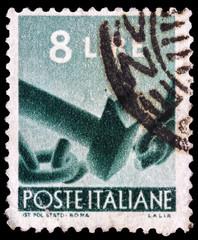 Italian post stamp