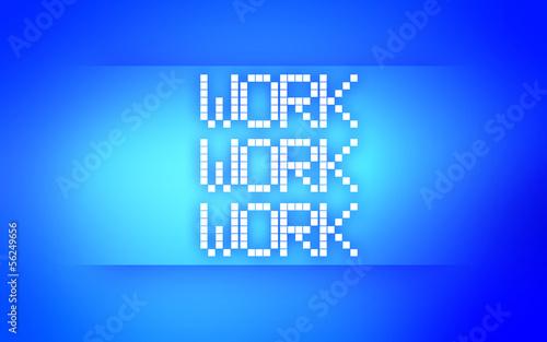 WORK BLUE