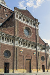Pavia-Santo Stefano church color image