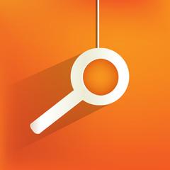 search web icon,flat design