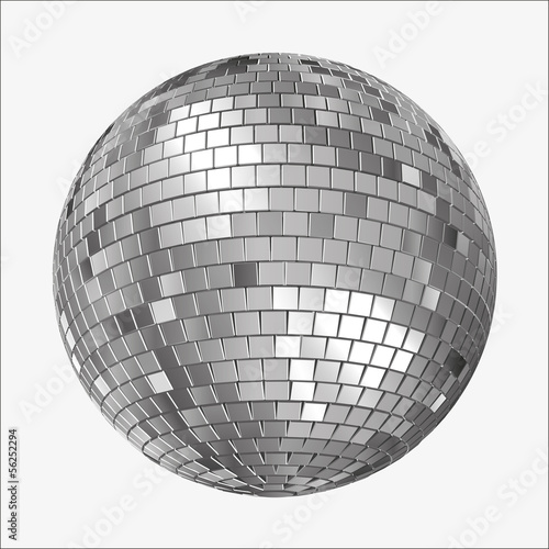 Vector Disco Mirrorball,  Mirror Ball, Spiegelkugel