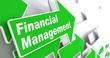 Financial Management. Business Concept.