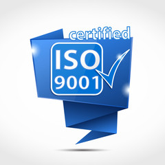 origami bubble : iso 9001 certified