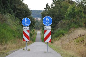 Radweg, Fahrradweg, Ausbau des Radwegenetzes