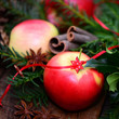 Weihnachtszeit,Apfel