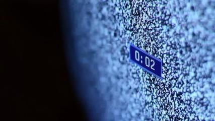 TV Static Countdown
