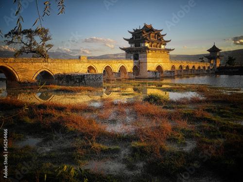 Double-Dragon-Bridge in Jianshui