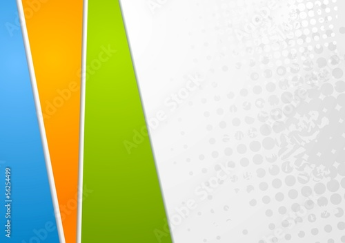 Colourful elegant vector background