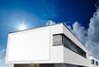 Haus Bauhaus mit Schild