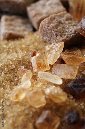 Natural browne sugar.