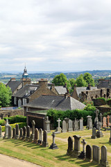 Stirling cemetery,Scotland.