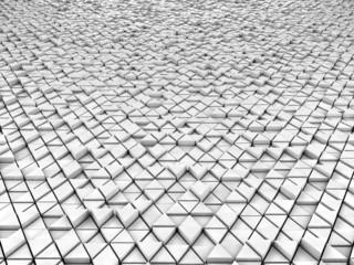 Geometric background - Hexagon pattern