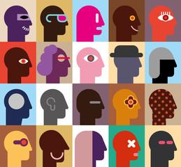 Human Heads © chetverikov