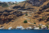 Thirasia Island Santorini Greece Europe