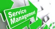 Service Management. Business Concept.