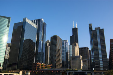 Building view in Chicago, Illinois
