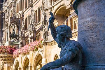 Neue Rathaus, Marienplatz, Monaco