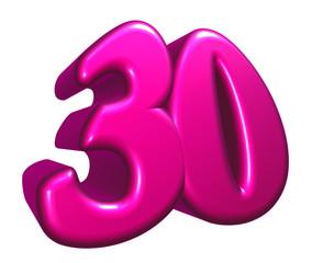 nummer dreißig