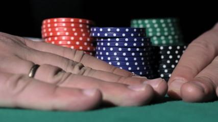 Poker. Winner takes the money.