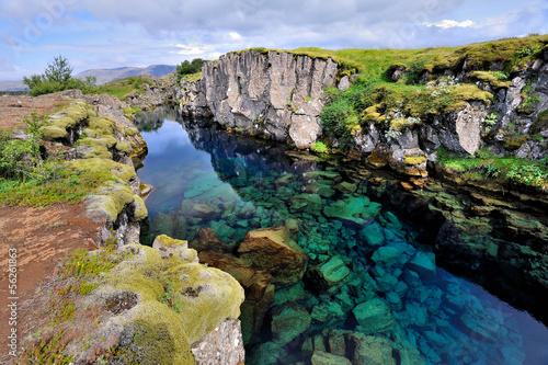 Leinwandbild Motiv Iceland - Þingvellir National Park