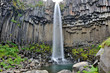 Iceland - Svartifoss waterfall
