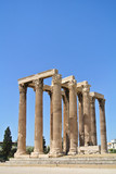The Temple of Olympian Zeus, Athens, Greece
