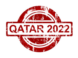Qatar 2022 stamp