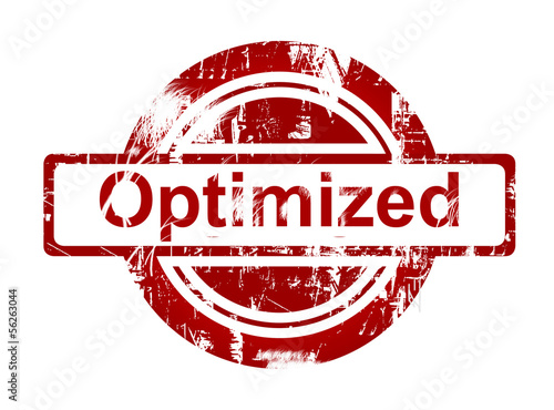 SEO optimized red stamp