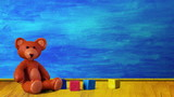 Plasticine room (clay animation for video introduction)