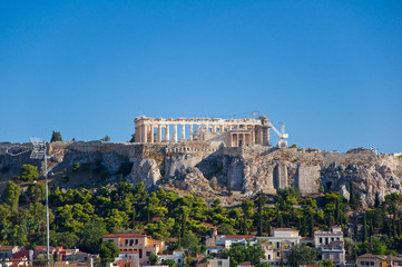 The Acropolis of Athens. Greece.