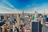 Fototapety Manhattan aerial view
