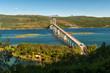 Tjelsund bridge at Lofoten in northern Norway