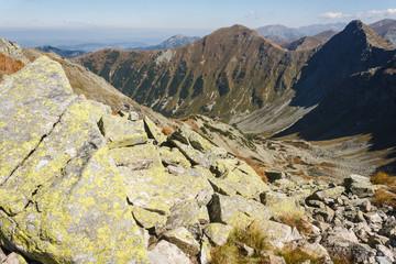 mountain peaks in Western Tatras