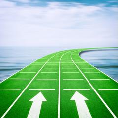 Forward Running Track