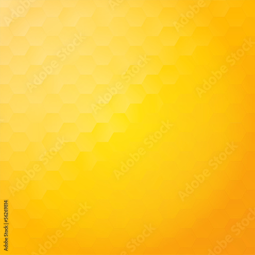 Shiny and stylish honeycomb background