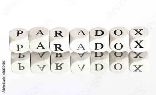 Leinwandbild Motiv Paradox