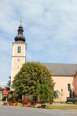 Die Pfarrkirche der Marktgemeinde Mooskirchen