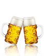canvas print picture - Zwei Mass bier