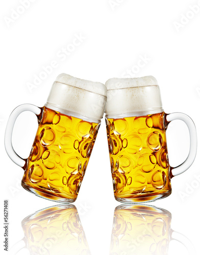 canvas print picture Zwei Mass bier