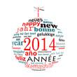 2014, boule multilingue
