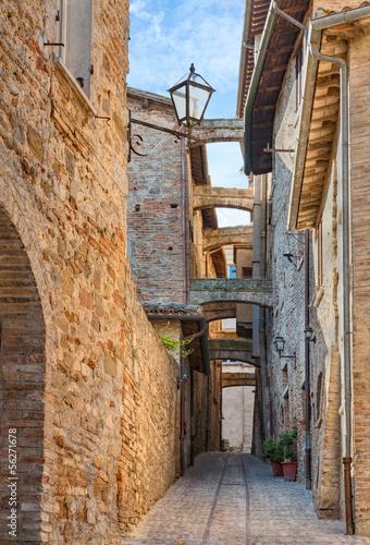 Fototapety, obrazy : antique Italian alley