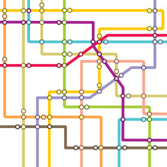 Subway - metro map