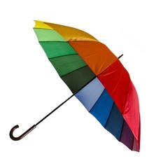 Regenbogen-bunter Regenschirm