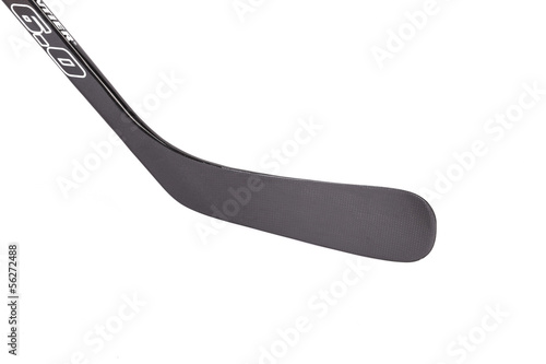 Black ice hockey stick.