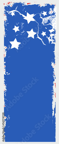 Vertical Banner - USA Independence Day Vector theme Design