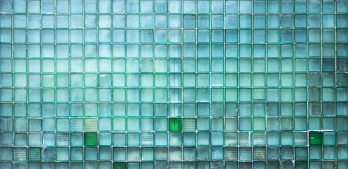 old glass wall