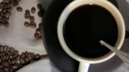 Fresh brewed Coffee.